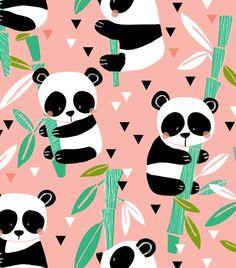 sweet panda print