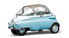 BMW 250 Standard 1956 Minis, 1950s Car, Bmw Isetta, Microcar, Reverse Trike, Miniature Cars, Fiat 600, Weird Cars, Unique Cars