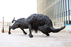 """""""Buffalo 2"""" 2011 by Yong Ho Ji, from Stainless Steel, Used Tire"""