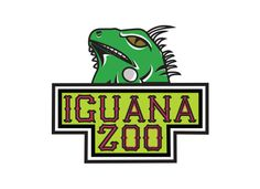 Az Iguana Zoo logoja/logo of the Iguana Zoo