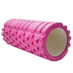 Foam Rollers Sports AccuPoint Foam Roller Muscle Tissue Massage Fitness Gym Yoga Pilates 13 foam rollers for muscles Pink ** Want additional info? Click on the image.(This is an Amazon affiliate link)
