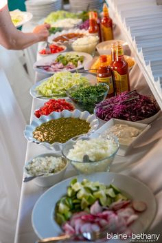 New wedding food stations receptions taco bar Ideas food ideas buffet mexican Party Fiesta, Ideas Party, Party Games, Taco Bar Wedding, Wedding Catering, Wedding Cake, Wedding Foods, Mexican Wedding Reception, Salad Bar