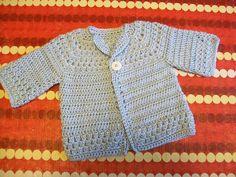 Free Pattern Crochet Baby Cardigan