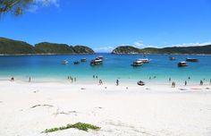 Melhores Praias do Rio de Janeiro - Praia do Farol, Arraial do Cabo