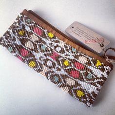 Amazing, beaded Cleobella clutch at the Ella Moss boutique #accessorized