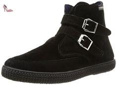 Victoria 116705, Bottes Motardes mixte adulte, Noir (Negro), 39 EU - Chaussures victoria (*Partner-Link)