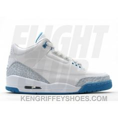 b4124b852a9134 WS Air Jordan Retro 3 White Harbor Blue Boarder Blue 315296-142 Discount  A346CQQ