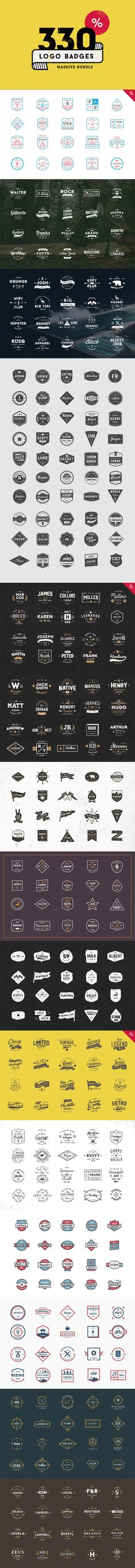 https://creativemarket.com/vuuuds/206973-330-Logos-Bundle
