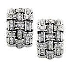 Roberto Coin Apassionata Diamond Earrings in 18k White Gold - http://karat.designerjewelrygalleria.com/roberto-coin/roberto-coin-earrings/roberto-coin-apassionata-diamond-earrings-in-18k-white-gold-6/