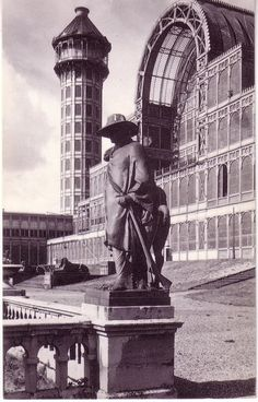 The Crystal Palace - would have loved to have seen this back in the day...!