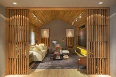 MOSTRA ARTEFACTO RIO 2015: Salas de estar Moderno por BC Arquitetos