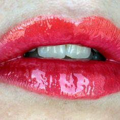 Sunset Lips #prom lips