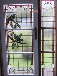 tui stained glass window