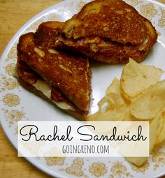 The Rachel sandwich is just like a Reuben, only made with pastrami instead of corned beef. It's the queen of sandwiches!
