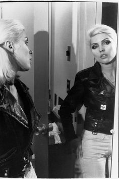 Deby Harry.  Chris Stein / Negative: Me, Blondie, and the Advent of Punk  Circa 1976