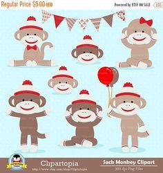 sock monkey clip art images sock monkey clipart sock monkey vector rh pinterest com clipart sock monkey free Original Sock Monkey Pattern