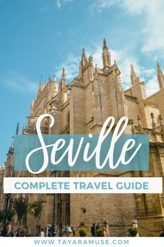 Looking for things to do in Spain? Check out this 3 days in Seville itinerary & city guide! #VisitSpain #Andalusia #Seville #Sevilla Visit Seville I Destination Spain I Things to do in Seville I Where to go in Spain I Spain Itinerary I Seville Itinerary I Spain Travel Tips #europe #traveltips