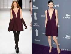 Rooney Mara In J. Mendel – 14th Annual Costume Designers Guild Awards
