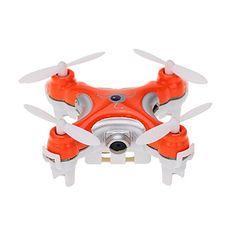 Nano+Pocket+Drone+with+Camera+Cheerson+CX-10C+CX10C+Mini+2.4G+4CH+6+Axis+RC+Quadcopter+RTF+MODE2+–+GBP+£+15.42