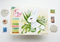 Field Note no 28 - Post card Set on Etsy, $9.00