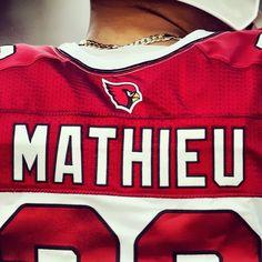 Arizona Cardinals - Rookie safety Tyrann Mathieu