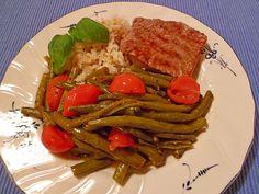 Grüne Bohnen auf italienische Art, ein raffiniertes Rezept aus der Kategorie Hülsenfrüchte. Bewertungen: 7. Durchschnitt: Ø 4,0.