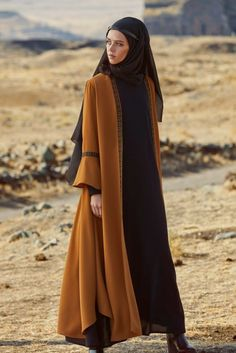Love the details on this abaya - 2019 Hijab Clothing