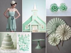 mint, dusty aqua, gray + white {the perfect palette}