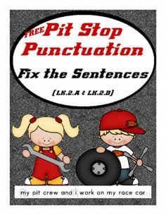 Pit Stop Punctuation