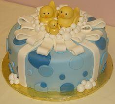 Rubber Ducky Baby Shower cake by JMC Custom Cakes, via Flickr