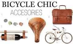 Stylish Bicycle Accessories