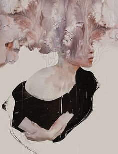 Contemporary artist from Philippines Januz Miralles. Miralles known for his woman paintings and avstract paintings
