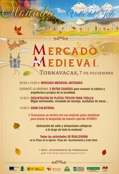 Mercado Medieval (7 de diciembre en Tornavacas) http://soprodevaje.blogspot.com.es/ OTOÑADA en el Valle del Jerte