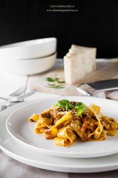 Disturbingly Delicious - Pappardelle al Ragù