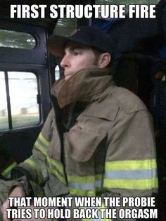 First structure fire will always be remembered and be one of the best experiences in your life! I remember my first real structure and it was the time of my life! Firefighter Paramedic, Wildland Firefighter, Female Firefighter, Firefighter Quotes, Volunteer Firefighter, Firefighter Training, Firefighter Family, Fire Dept, Fire Department