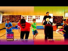 Might be for kids older than preschool age - but fun idea. Dance Games for Kids- School Exercises with MUVE for Kids Workout