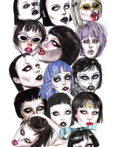 """I guess you didn't know you needed this Alice Glass Background, You are welcome! /HQ:lucasbavid.tumblr.com /"""