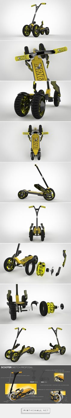 The Tonka Truck of Scooters | Yanko Design - created via https://pinthemall.net