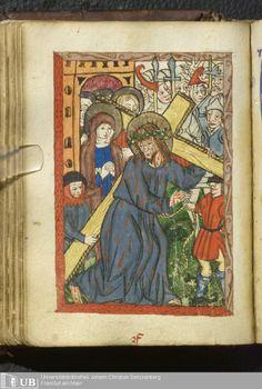 108 [53v] - Ms. Praed. 169 (Ausst. 37) - Deutsch-Lateinisches Gebetbuch - Page - Mittelalterliche Handschriften - Digitale Sammlungen Mittelrhein, [um 1490]