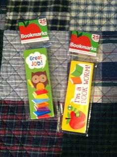 2 Pkg 25 in Each Educational Bookmarks Great for Teachers Daycares Homeschool | eBay
