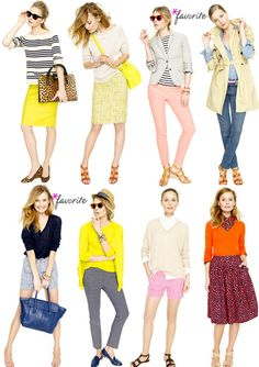 The top left and bottom left.  LOVE yellow.  LOVELOVE stripes.