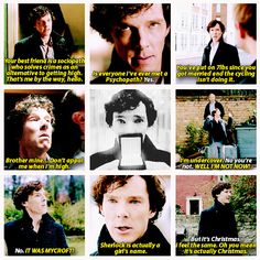 *Spoilers* Some of the best Sherlock lines from HLV.