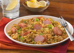 Smoked Sausage Cajun Dirty Brown Rice - Johnsonville.com