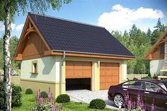 projekt Garaż G8 WRF1506