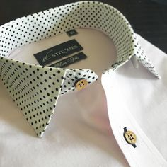 The polka power!  Customise your own shirts online at 16stitches.com make your own style statement.  #menswear #mensstyle #mensfashion #bespoke #shirts #tailored #tailormade #madetomeasure #formals #formal #formalwear #classy #classymen #dapper #dappermen #gentlemen #luxury  #lookbook