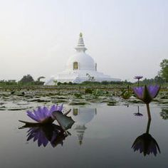 The Lord Buddha was born in 623 BC in the sacred area of Lumbini located in the Terai plains of southern Nepal, testified by the inscription on the pillar erected by the Mauryan Emperor Asoka in 249 BC. Lumbini is one of the holiest places of one of the world's great religions, and its remains contain important evidence about the nature of Buddhist pilgrimage centres from as early as the 3rd century BC.©OUR PLACE The World Heritage Collection