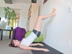 Bauch Beine Po Übungen ohne Squad Wall Bridge