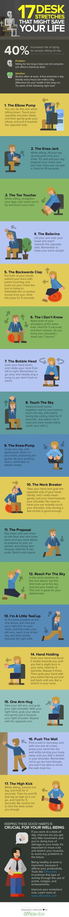 20 #Infographics for Stretching That'll Make You Super Bendy in 2 Weeks ...