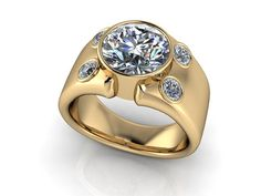 custom diamond band designs for women - Google Search