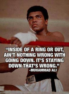Today we lost one of our greatest sportsman ever . He was the best, the greatest boxer. Muhammad Ali may you rest in peace. Here are some of the Best Inspirational Quotes from Muhammad Ali … May he inspire us forever . Great Quotes, Quotes To Live By, Me Quotes, Motivational Quotes, Inspirational Quotes, Motivational Pictures, Sport Quotes, The Words, Muhammad Ali Quotes